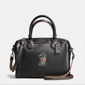 NWT COACH Disney Mickey Bag